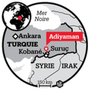 ville d'Adiyaman en Turquie