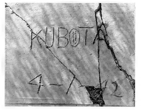 Kubota 4-1-42 1984. Mark Kirchner