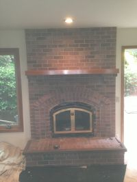 """Bricked In"" - A Fireplace Restoration Project - Pristine ..."