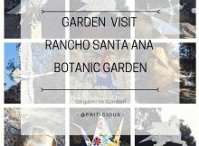 Garden Visit to Rancho Santa Ana Botanic Garden