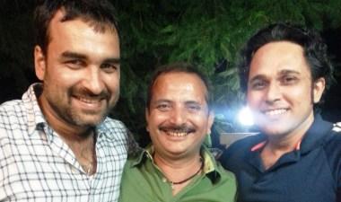 Pritish Chakraborty, Mukesh Bhatt, Pankaj Tripathi (R-L)
