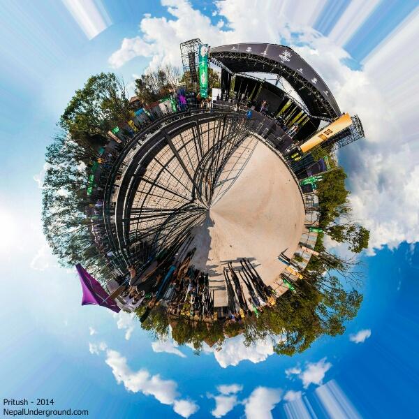 Silence Fest 360 degree panorama