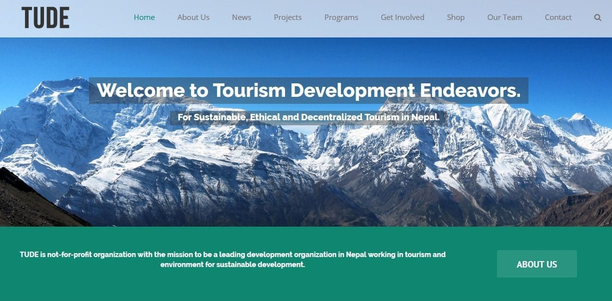 Tourism Development Endeavor (TUDE)