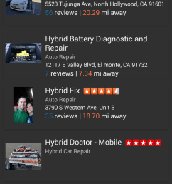 dr prius nearby repair shop page [ 720 x 1280 Pixel ]