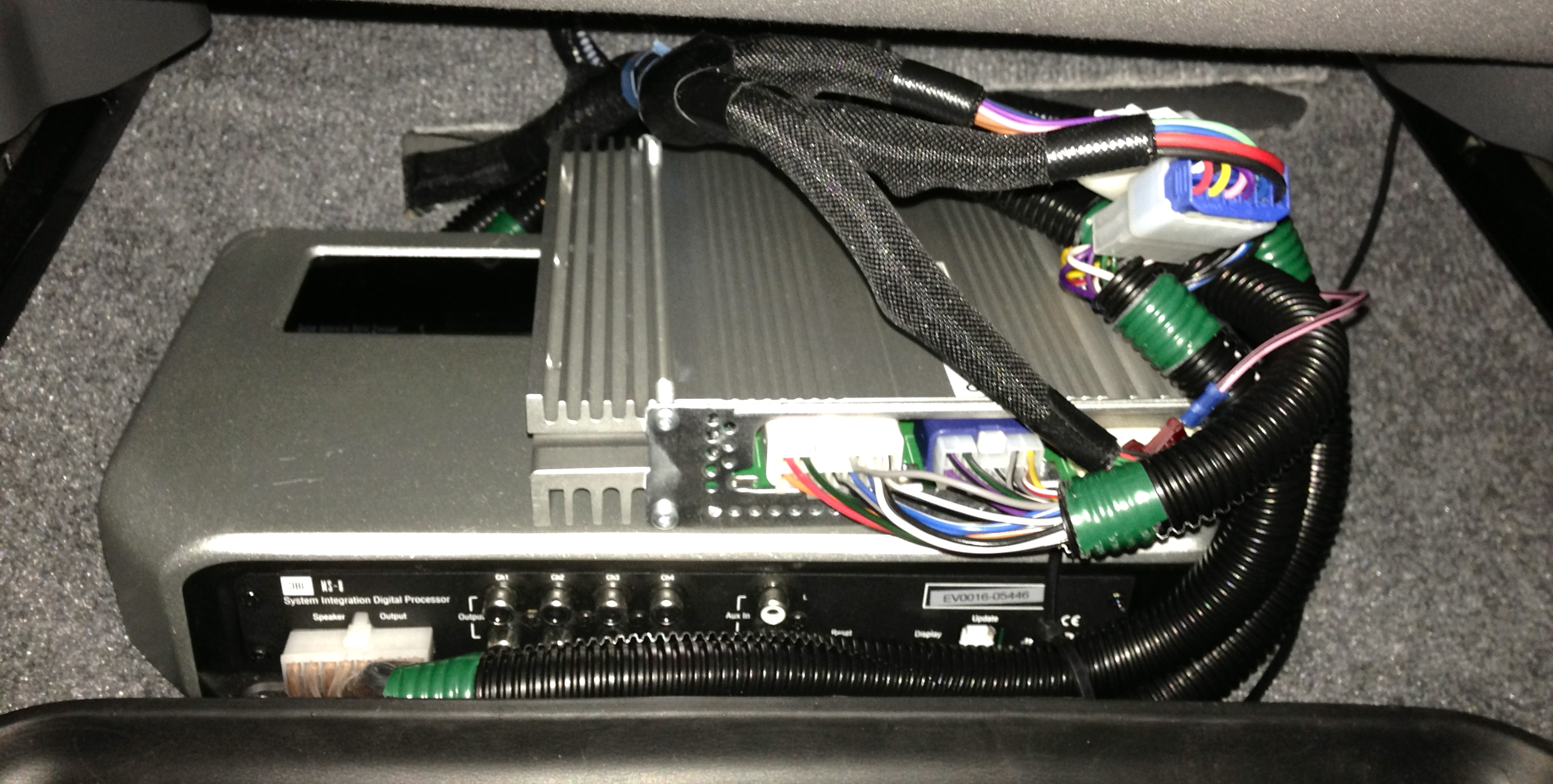 Amp Wiring Harness Jbl Ms 8 With Custom Harness For Jbl Prius 10 11 Priuschat
