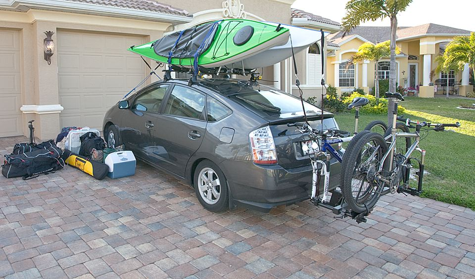 carry bicycle outside 2018 prius