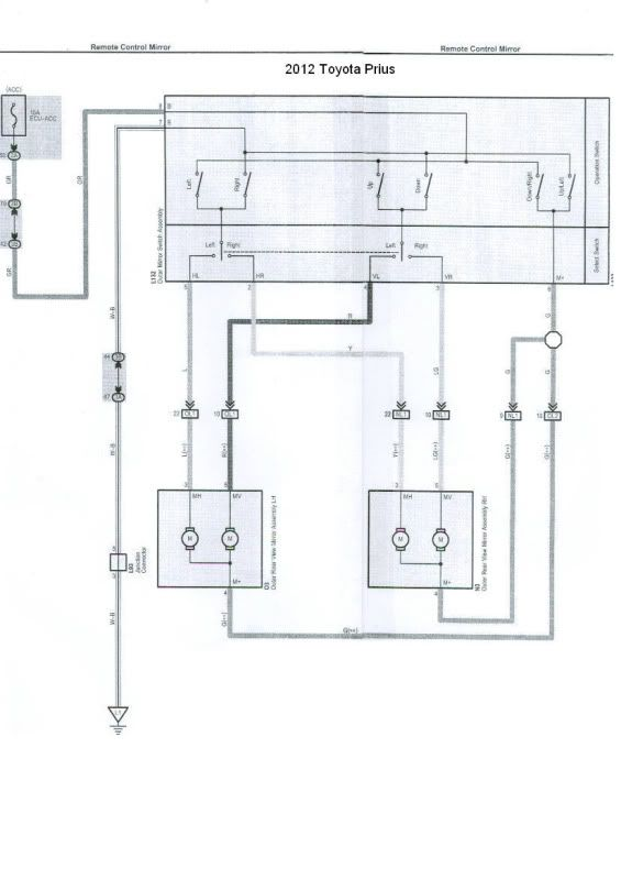 Wiring Diagram Toyota Prius 2012