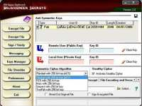 'Asrar al-Mujahideen' software screenshot