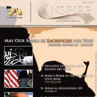 'Inspire' magazine cover