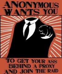 Anonymous propaganda