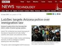 News story on Arizona police data dump
