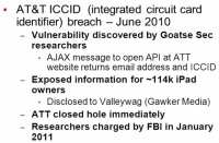 AT&T ICCID breach details