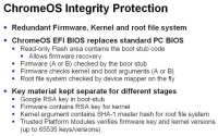Details and sequence of Chrome OS trusted boot process