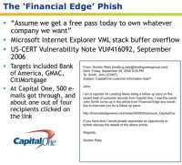 Major spear phishing attack targeting the financial industry