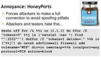 Script for the HoneyPort