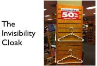Invisibility cloak – great idea but hardly any effect