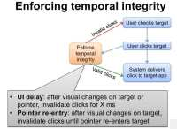 An outline of methods to enforce temporal integrity