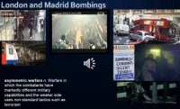 London and Madrid bombings