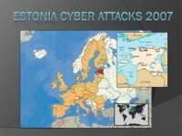 2007 Cyberattacks on Estonia