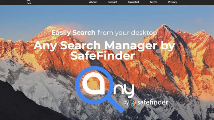Any Search Manager by SafeFinder