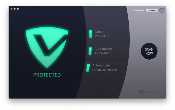 Active Protection turned on