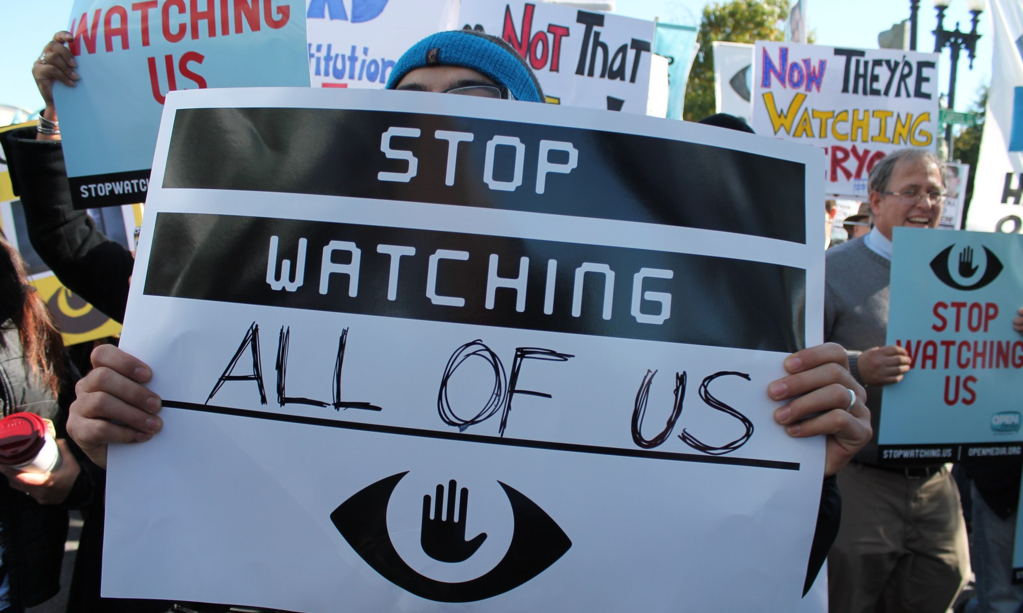 Surveillance in a totalitarian state