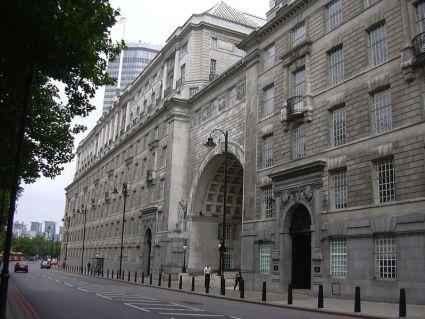 MI5 building