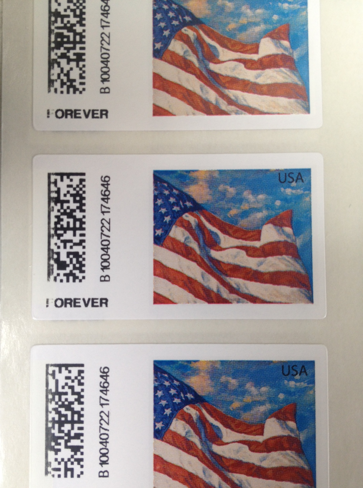 new usps forever stamps