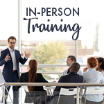In person training image