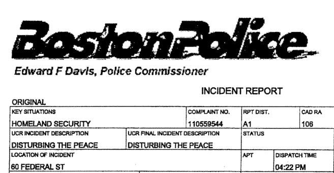 The BPD files: when marching in the street becomes a