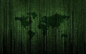 world map matrix code