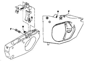 Tryckmekanismen Benelli MP 90