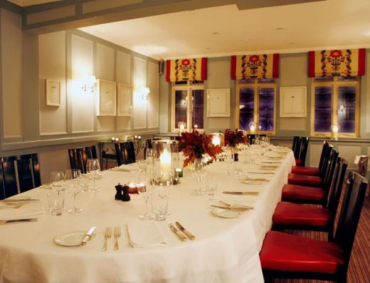Quo Vadis Marx Private Dining Room