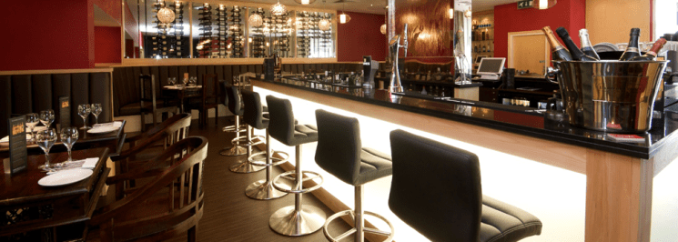 ERIKI Main Restaurant Hire - Heathrow London
