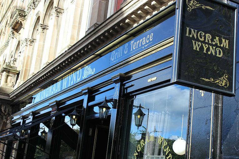 Ingram Wynd Private Dining Glasgow 58 Ingram Street G1 1EX