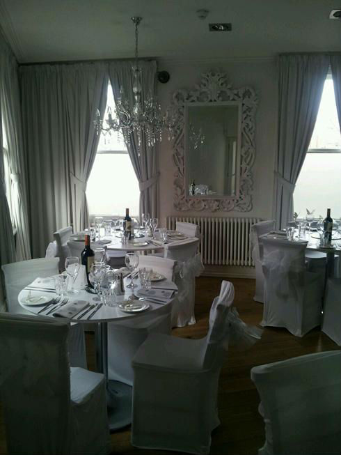 Schmooze Restaurant Liverpool Dining Room
