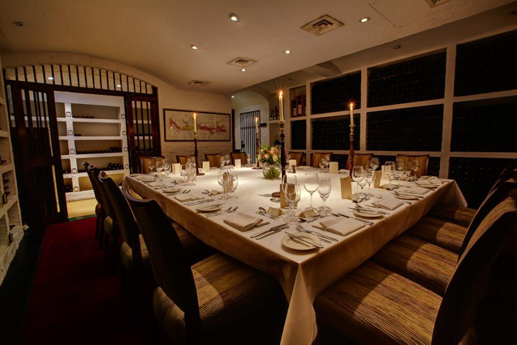 Petersham Hotel - Cellar Private Dining Room