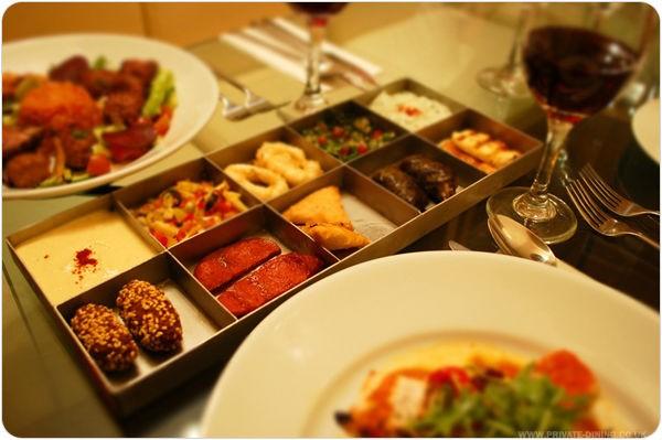 Food Pictures - Mezes & Sword Fish