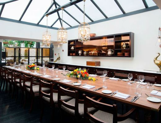 Bombay Brassierie Private Dining London