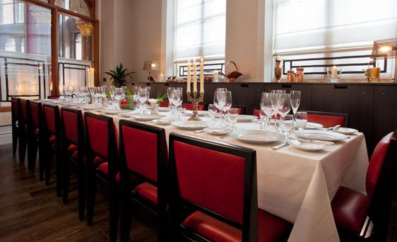 Gilbert Scott Private Dining Room