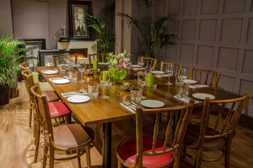 Chapter 1 Private Dining Room EH3 5EP - 12 Seated