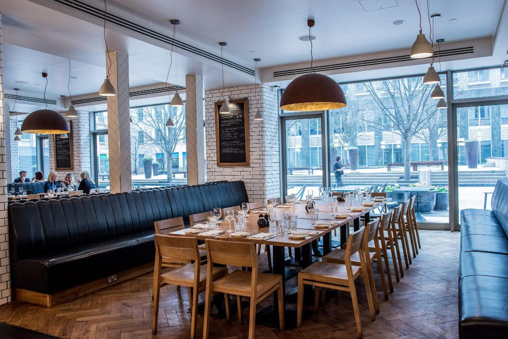 Toms Kitchen - Semi-Private Dining Space Canary Wharf, London