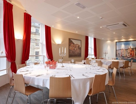 Carluccios Private Dining Events Space N