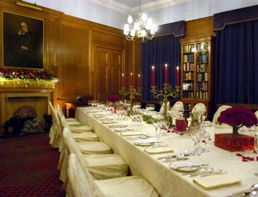 Fellows Library Private Dining Room Edinburgh