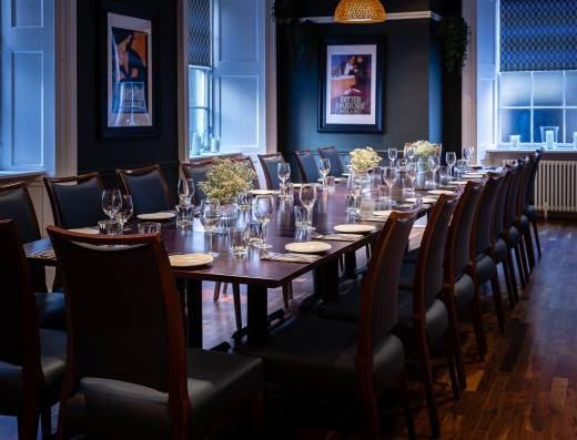 Private Dining Room - Otro Restaurant - Edinburgh