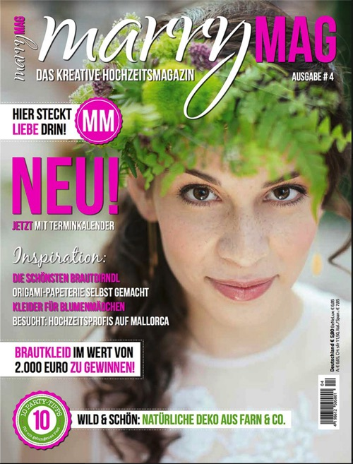 Marry Mag magazin 2014 private cooking