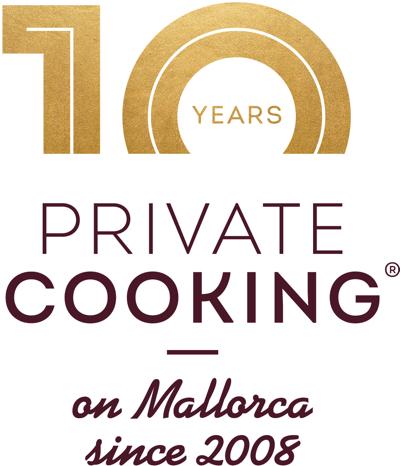 Private Cooking Mallorca 10th anniversary logo 2018