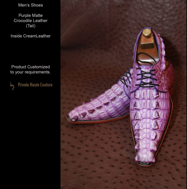 Mens Shoes Private Haute Couture