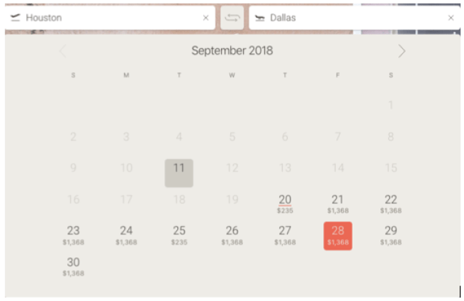 JetSmarter Houston to Dallas private jet charter schedule