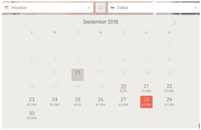 JetSmarter Houston to Dallas private jet charter schedule